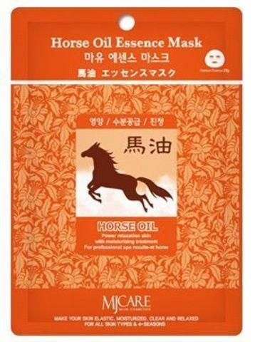 MIJIN Essence Маска тканевая конский жир Horse Oil Essence Mask