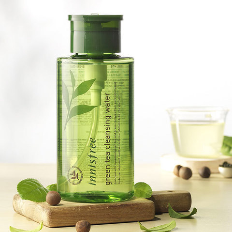 Мицеллярная вода Innisfree Green Tea Cleansing Water 300ml.