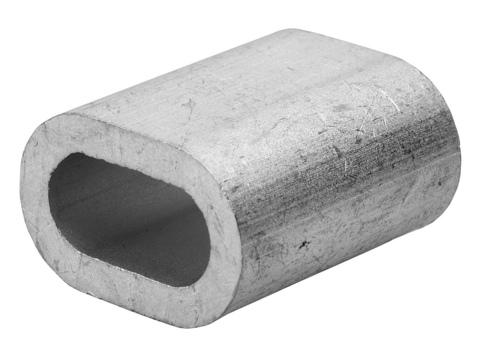 Зажим троса DIN 3093 алюминиевый, 6мм, 40 шт, ЗУБР