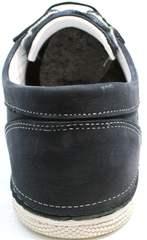 Удобные кроссовки на каждый день Vitto Men Shoes 3560 Navy Blue.