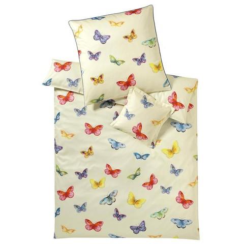 Постельное белье 2 спальное Elegante Butterfly ванильное