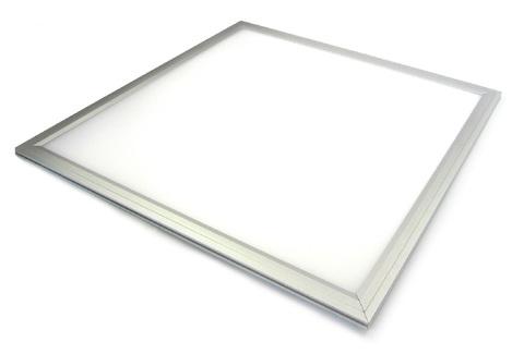 Ультратонкая светодиодная панель серии СВО 295х295, 14 Вт, 3000 К, хром, Народная (без драйвера)