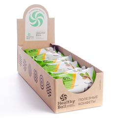 Набор полезных конфет Protein Ball. Арахис (12 упаковок по 2 конфеты)