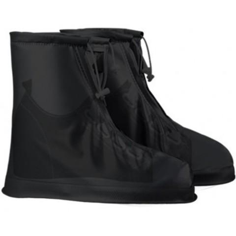 Дождевики для обуви черные