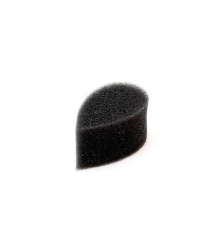 Спонж черный лепесток плотный маленький