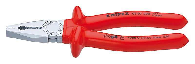 Плоскогубцы комбинированные Knipex KN-0307180