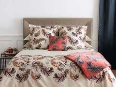 Постельное белье 2 спальное Yves Delorme Parure Ivoire