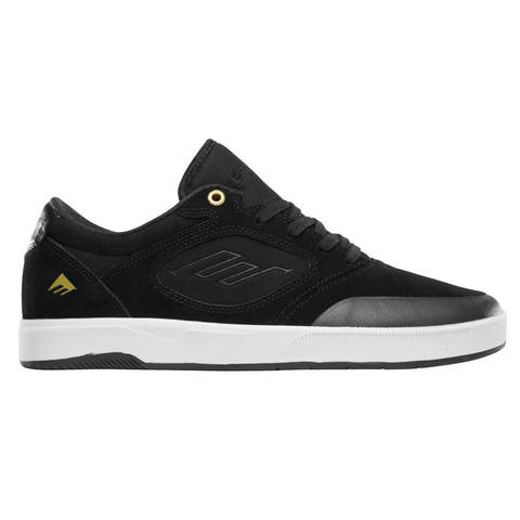 Кеды EMERICA Dissent (Black/White/Gold)
