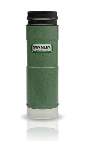 Термокружка Stanley Classic Mug One Hand (0,47 литра), темно-зеленая