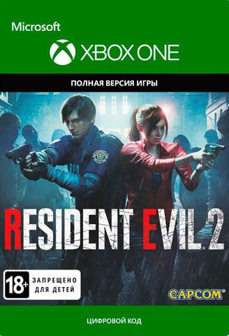 Xbox One Resident Evil 2: Remake (цифровой ключ, русские субтитры)