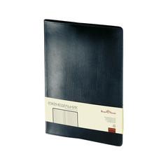 Еженедельник недат,черный,кожа,A4,,64л,Br.V.PROFI 3-098/02