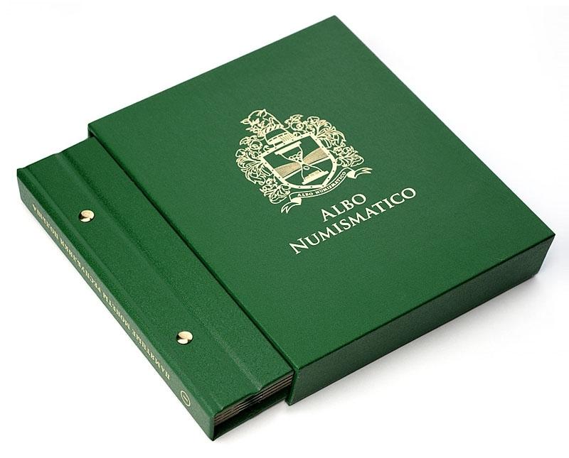 Футляр для альбомов толщиной 30 мм, цвет «Зелёный»