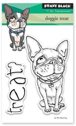 Набор силиконовых штампов  - dog treat