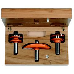 Набор для изготовления кухонной мебели, 3 фрезы СМТ В2
