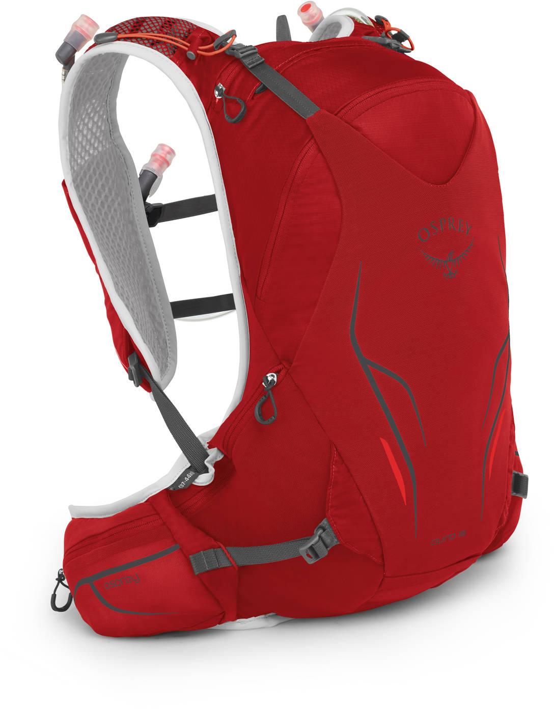 Рюкзаки для бега Рюкзак беговой Osprey Duro 15 Phoenix Red Duro_15_S19_Side_Phoenix_Red_web.jpg