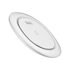 Беспроводная зарядка для телефона быстрая Baseus UFO Desktop Wireless Charger White