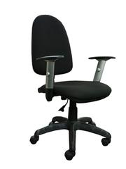 Компьютерное кресло Престиж new 06 B-14 (чёрный) с регулируемыми подлокотниками