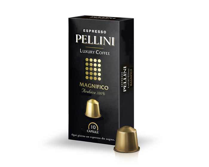 Кофе в капсулах Pellini Magnifico, 10 капсул (Пеллини)