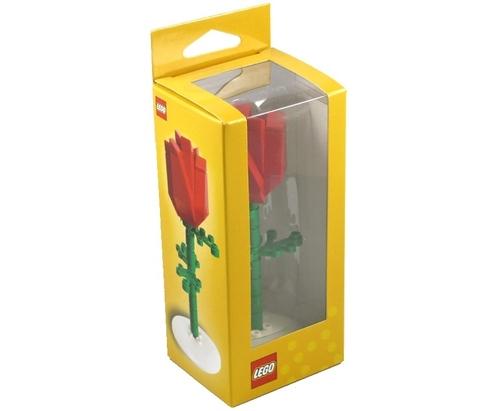 LEGO: Подарочный набор Роза 852786 — Red Rose (Glued) — Лего
