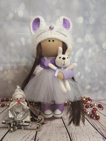 Текстильная Кукла Мышка