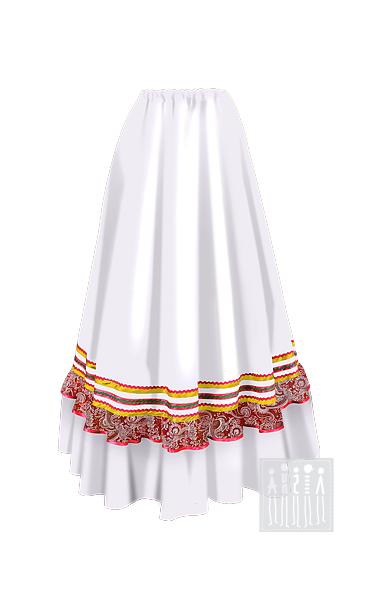 Казачья барыня юбка женская