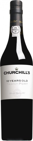 Портвейн Churchill's, Tawny Port 10 Years Old, 0.5 л