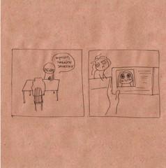 Настенькины Комиксы. На пути к диплому