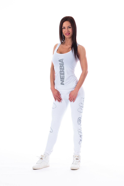 Женская майка Nebbia CARBON TANK 221 White