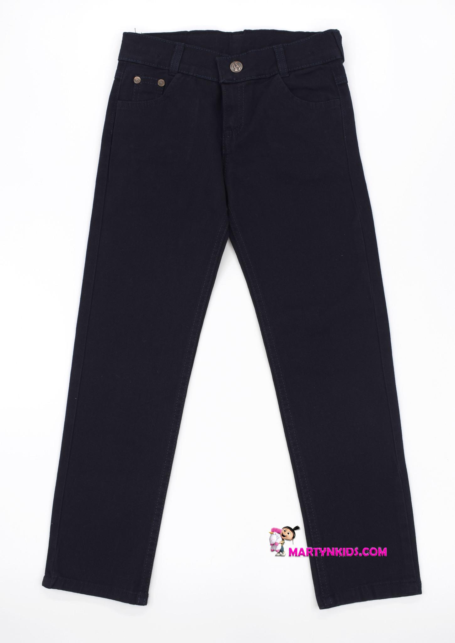 2336 джинсы-брюки школа подросток