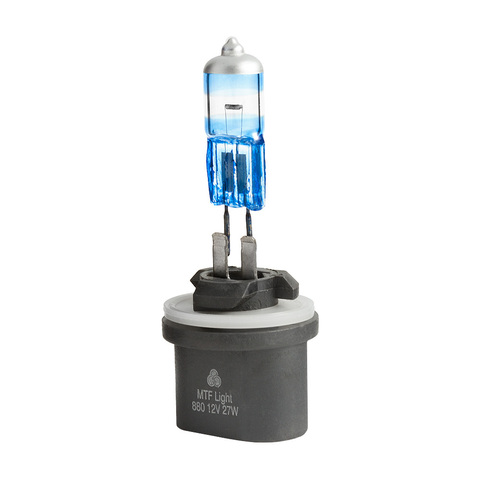 Галогеновые лампы MTF Light ARGENTUM +80% H27 880
