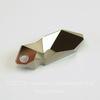 6913 Подвеска Сваровски Kaputt Crystal Metallic Light gold (28 мм)