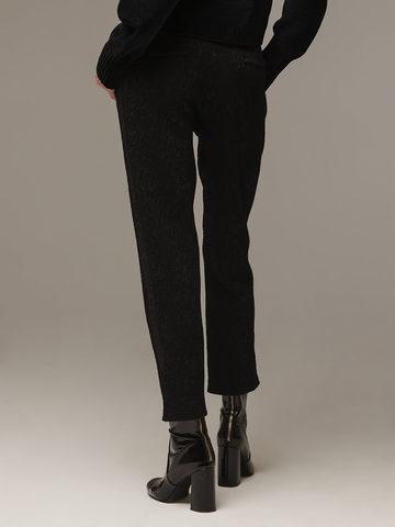 Женские черные шерстяные брюки - фото 2