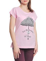 37662-8-4 футболка женская, розовая