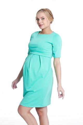 Платье 08016 зеленый