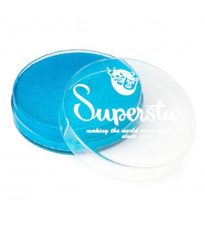 220 Аквагрим Superstar 16 гр перламутровый золотистый голубой