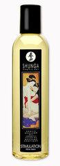 Масло массажное SHUNGA (Шунга) с эфирными маслами с ароматом персика (250 мл)