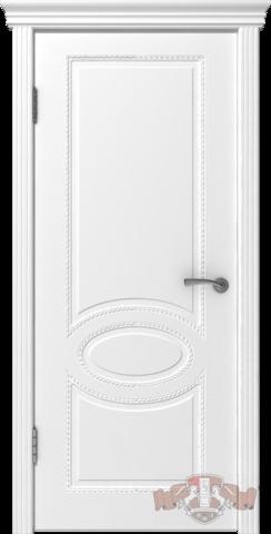 Дверь Владимирская фабрика дверей 29ДГО, цвет белая эмаль, глухая