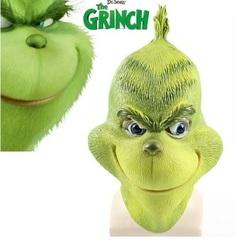 Как Гринч украл Рождество маска латексная Гринч