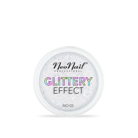NeoNail Глиттер Glittery Effect №3 переливающийся многоцветный
