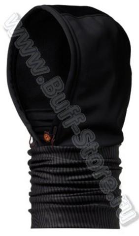 Шарф-капюшон непродуваемый Buff Black Lines