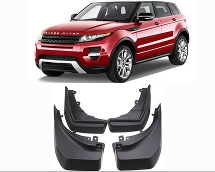 Брызговики передние и задние CHN для Land Rover Range Rover Evoque 2015 - silver front air vent grille cover for land rover range rover vogue 2014 2015 2016