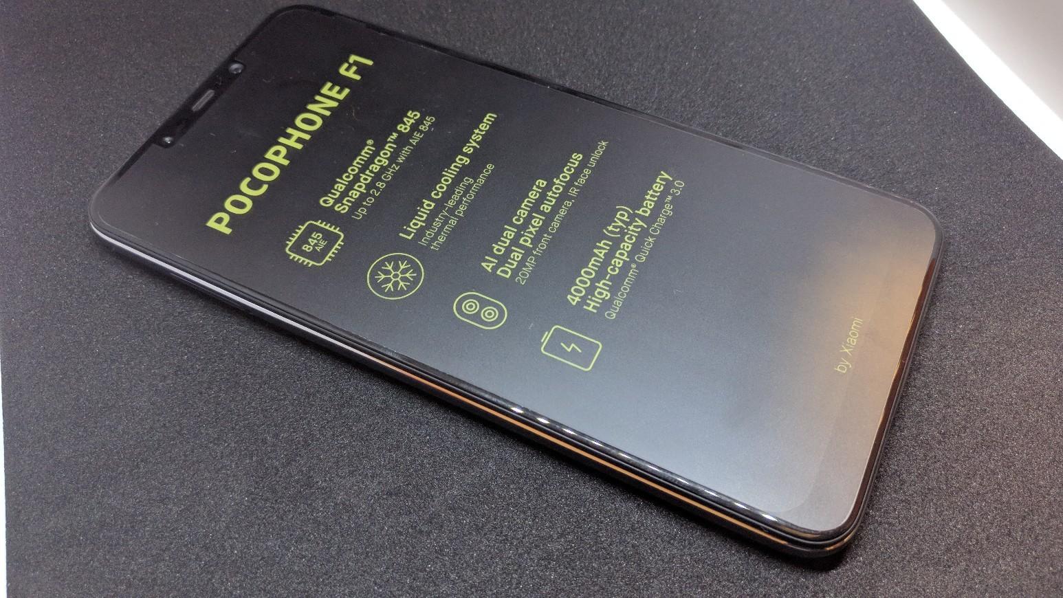 Xiaomi Pocophone F1 6gb 64gb Black By