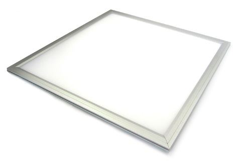 Ультратонкая светодиодная панель серии СВО 295х295, 14 Вт, 4000 К, хром, Народная (без драйвера)