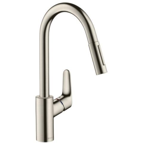 Смеситель для кухни с выдвижным душем Hansgrohe Focus 31815800