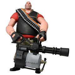 Team Fortress 2: RED Heavy Deluxe Action Figure