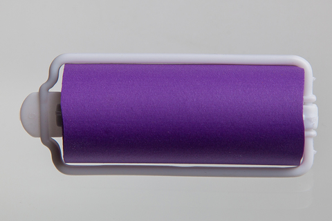 Бигуди эластичные Ставвер фиолет 25мм*70мм 12шт/уп