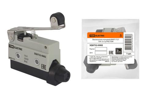 Выключатель концевой ВККП-7121 10А 1з+1р IP65 TDM