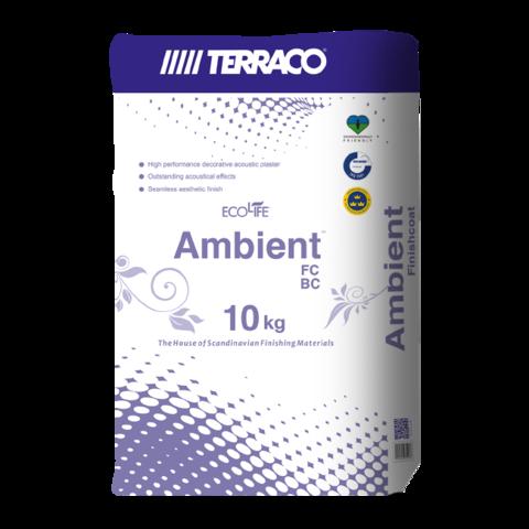 Terraco Ambient FC DP/Террако Амбиент FC DP базовый штукатурный состав для звукопоглощающих систем