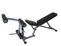 Скамья с возможностью дополнительных упражнений