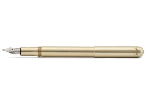 Ручка перьевая LILIPUT EF 0.5мм цвет корпуса латунный